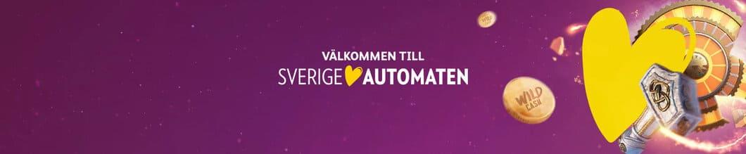 Sverigeautomaten med hundratals casinospel